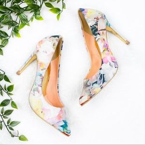 Ted Baker | Floral Pointed Heels